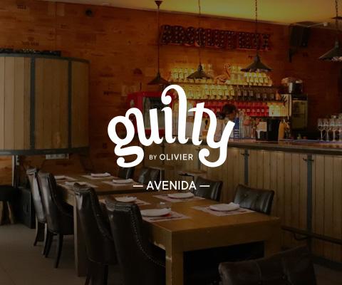 Interior restaurante Guilty by Olivier na Avenida da Liberdade