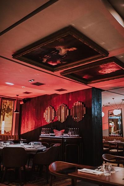 Vista do interior do restaurante Guilty no Parque das Nações