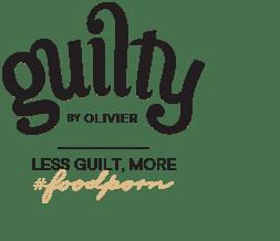 logo less guilt, more Guilty by Olivier