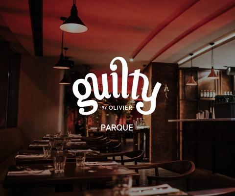 Interior do restaurante Guilty by Olivier no Parque das Nações